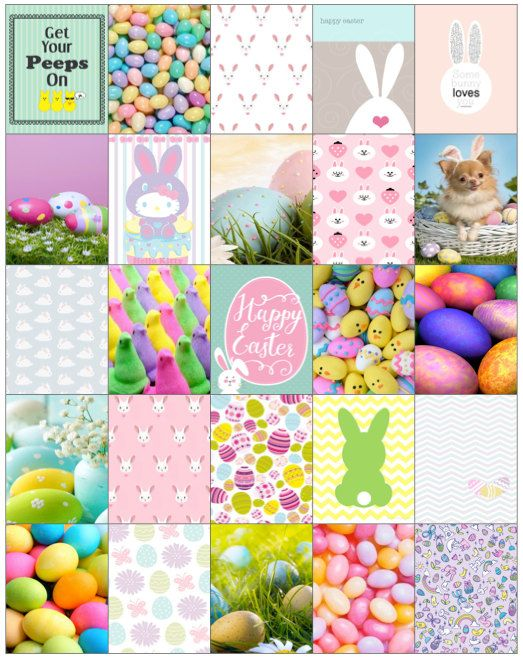 Easter Planner Stickers by JunePearlProjects on Etsy