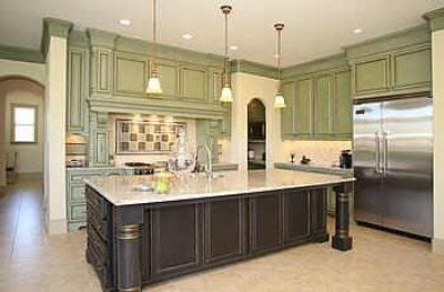 rustic green kitchen cabinets rustic green cabinets home sweet home 25742
