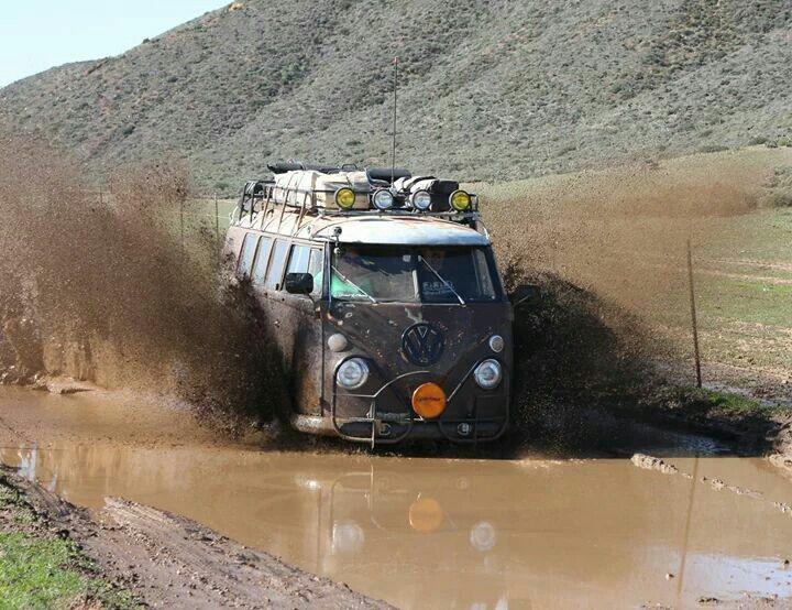 Bus mud boggin