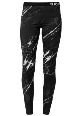 PIXIE  - Tights - black marble