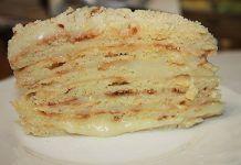 Простой торт на сгущенке — очень вкусно и просто!