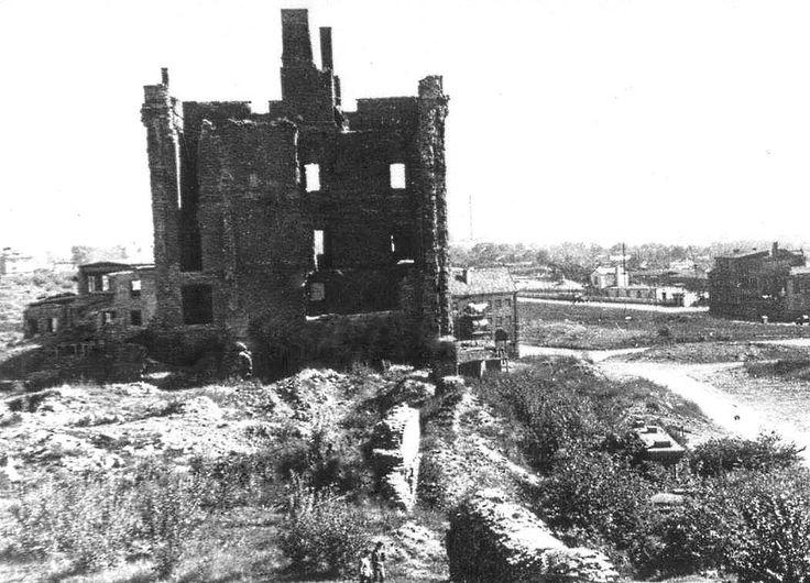 Руины Замка.Юго-Восток.