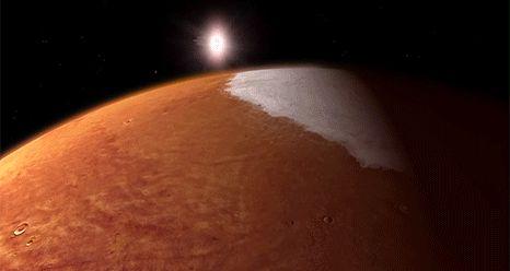 NASA's Newest Mars Mission Spacecraft Enters Orbit around Red Planet