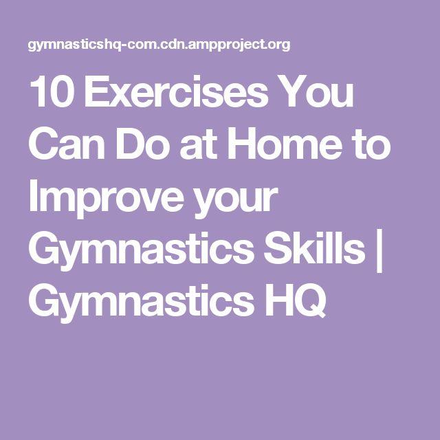 Best 25 Gymnastics Skills Ideas On Pinterest Gymnastics