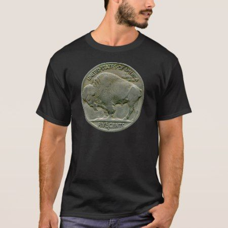 1936 US 'Buffalo' nickel tails t-shirt - tap to personalize and get yours