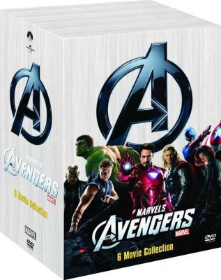 DVD: The Avengers - 6 Movie Boxed Set. The Incredible Hulk / Iron Man / Iron Man 2 / Thor / Captain America / The Avengers  #gifts #holidays #christmas