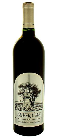 Silver Oak Valley Cabernet...the BEST wine there is, especially when shared with friends!  But only for special occasions!