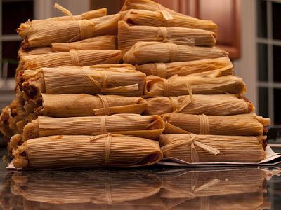 DIY VIDEO ~ Mexican Pork Tamales ... 6 Easy Steps