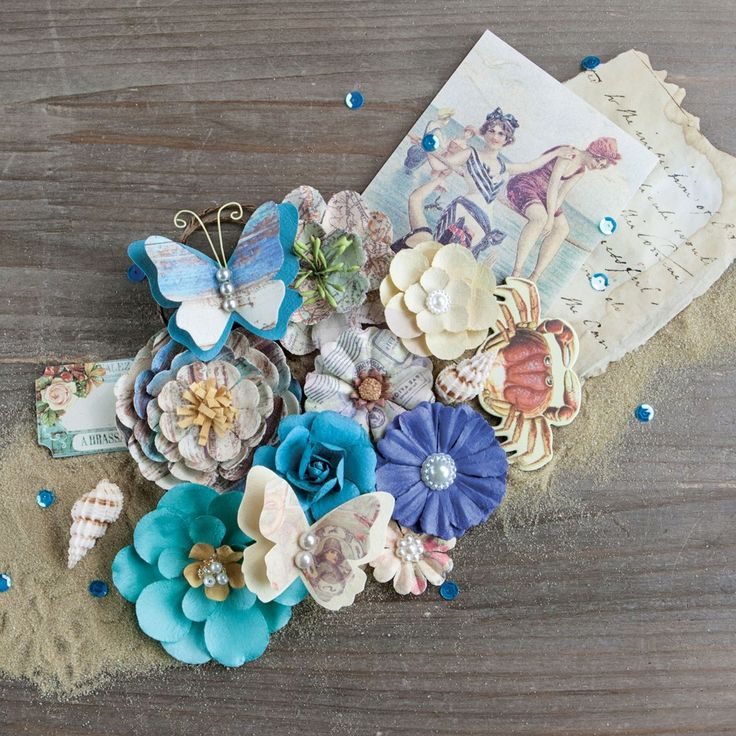 246 best beautiful prima paper flowers images on pinterest paper in stock ready to shipprima marketing french riviera flower embellishement style cte dazur winter cha mightylinksfo