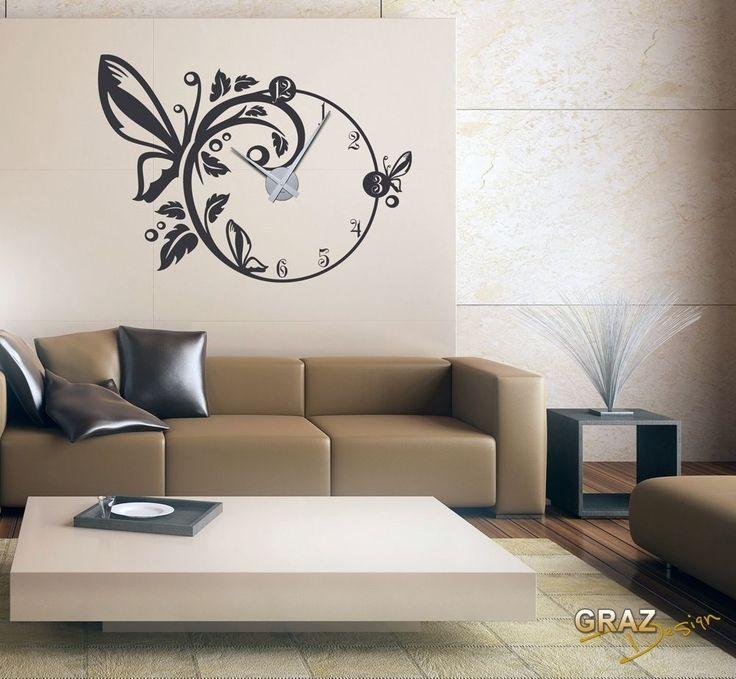 Die besten 25+ Schmetterlingslogo Ideen auf Pinterest - wanduhr design wohnzimmer
