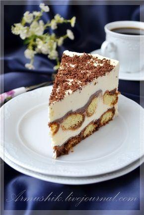 """Тирамису у нас числится в фаворитах.Любим мы этот десерт как в """"свежем"""",так и в замороженном виде.:) --------------------- печенье «Савоярди» (у меня была 400г…"""