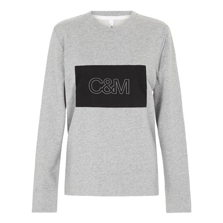 Camilla And Marc - C&M Shawn Large Logo Crew Grey Marle