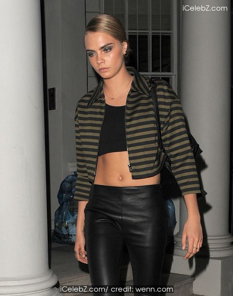 Cara Delevingne Celebrities at the Chiltern Firehouse restaurant in Marylebone for the Prada afterparty http://www.icelebz.com/events/celebrities_at_the_chiltern_firehouse_restaurant_in_marylebone_for_the_prada_afterparty/photo5.html