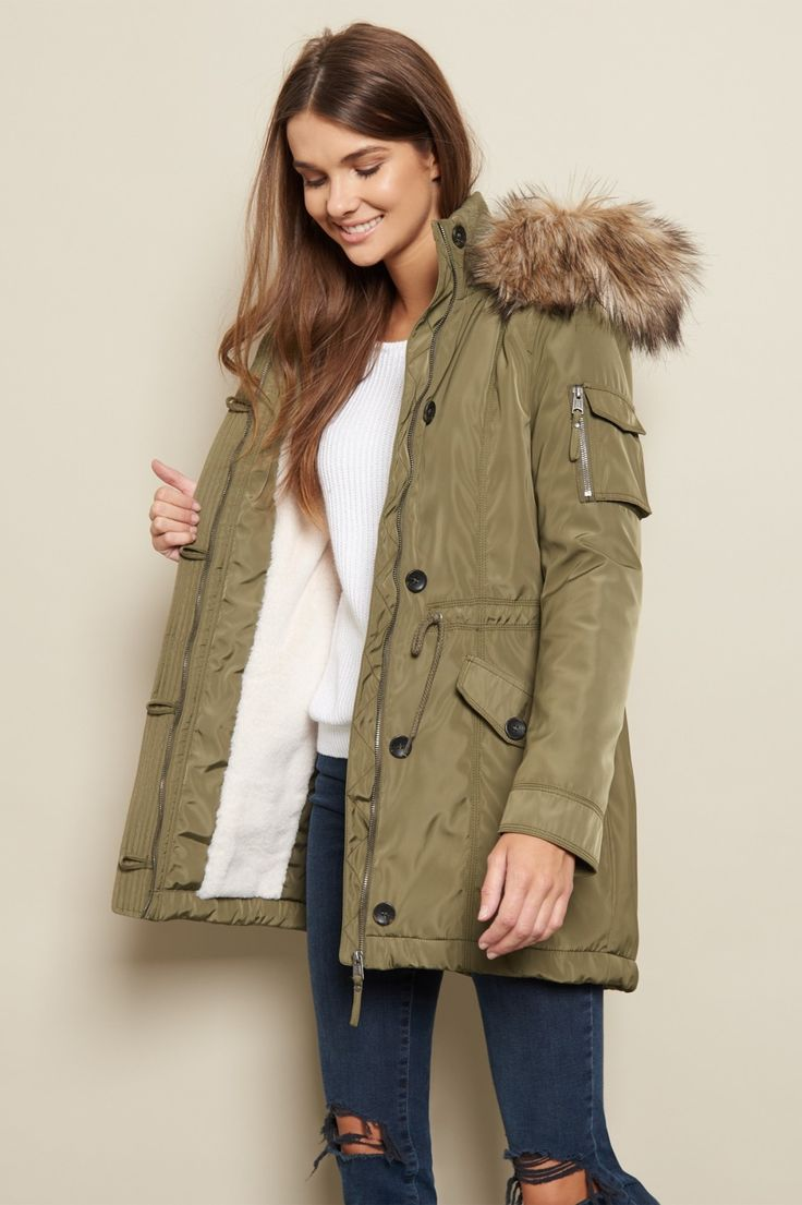 Don't let the frost bite - The Cozy Field Parka