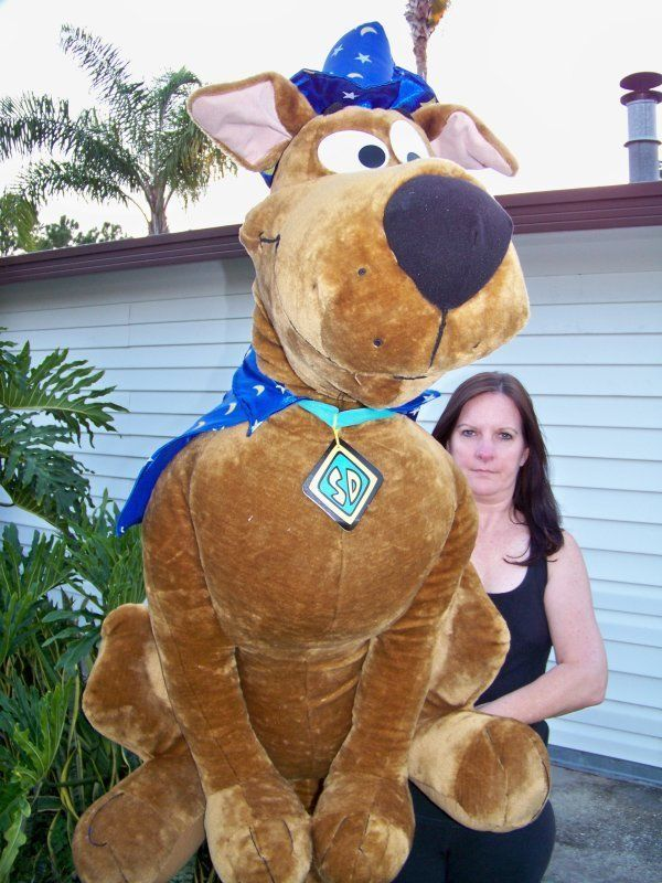 Giant Size 46 Quot Scooby Doo Doll Caseykasem The Menagerie