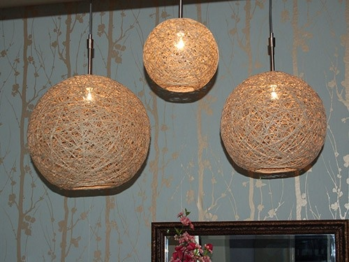 twine lamps. not the first time i've seen this tutorial, but this is the best one i've come across.