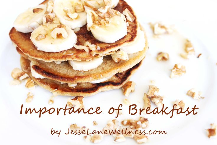 Importance of Breakfast @jesselwellness  One of the biggest diet myths is that skipping breakfast will help you lose weight. Countless studies have proved the importance of breakfast and that this is simply not true.  #breakfast #healthybreakfast