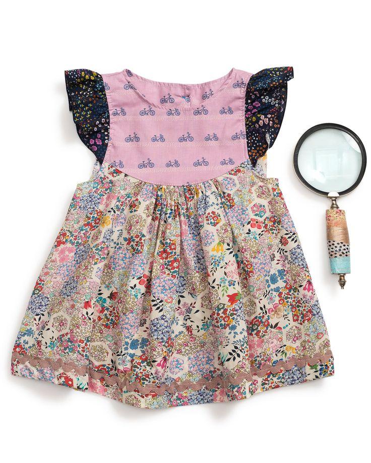 Patchwork Flutter Top Tops Summer Dresses Fashion