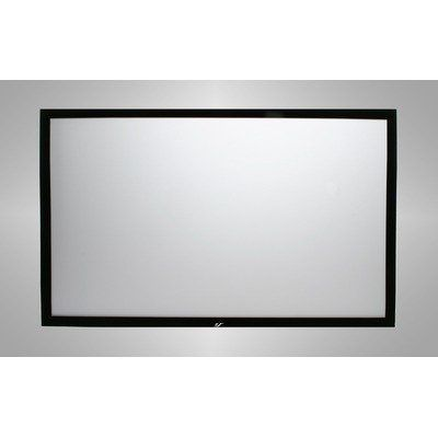 elite screens sable frame series diagonal high gain fixed frame projection screenu2026