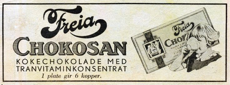 Freia Chokosan 1932