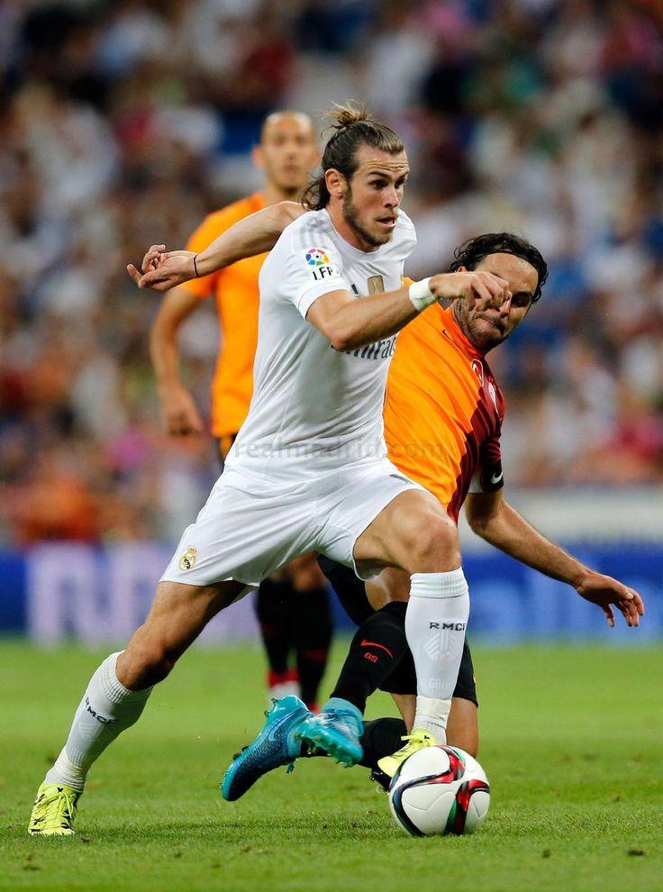 Gareth Bale, Selcuk Inan, and Umut Bulut - Real Madrid vs Galatasaray
