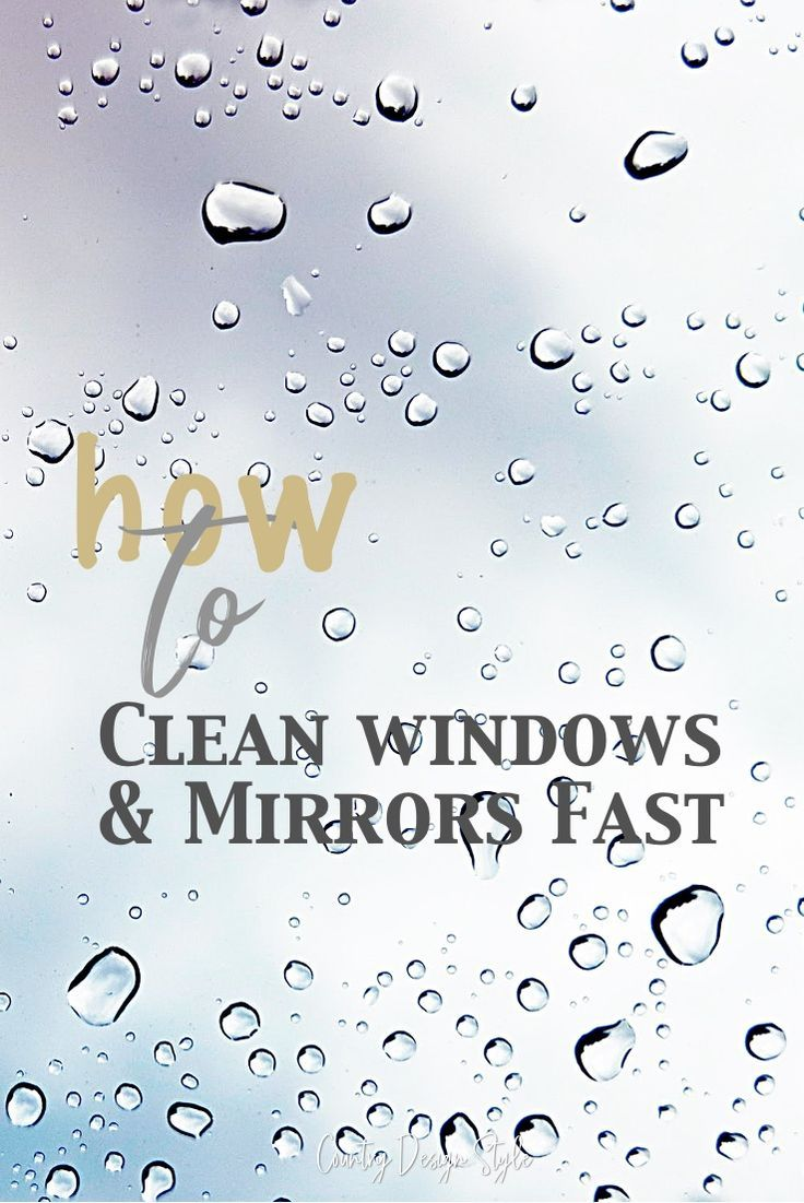 Window Cleaning Tools Clean Windows Mirrors Fast