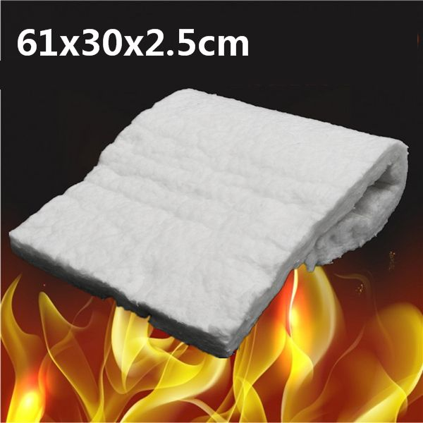 24xaislamiento De Alta Temperatura De 12x1 Pulgadas Silicato De Aluminio Manta De Fibra Ceramica Ceramic Fiber Blanket Ceramic Fiber Fiber Insulation