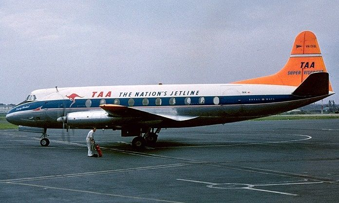 TAA Vickers Viscount 720C (VH-TVB)