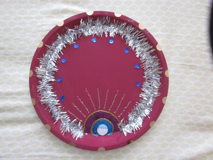 Indian puja thali
