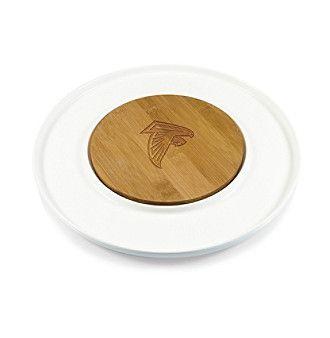 Picnic Time NFL® Atlanta Falcons Island Cheese Set with Bamboo Board