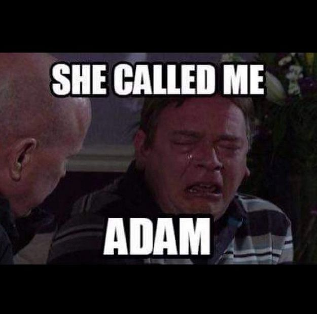 "The Internet Has Reacted Brilliantly To The ""How's Adam"" Eastenders Live Fail"