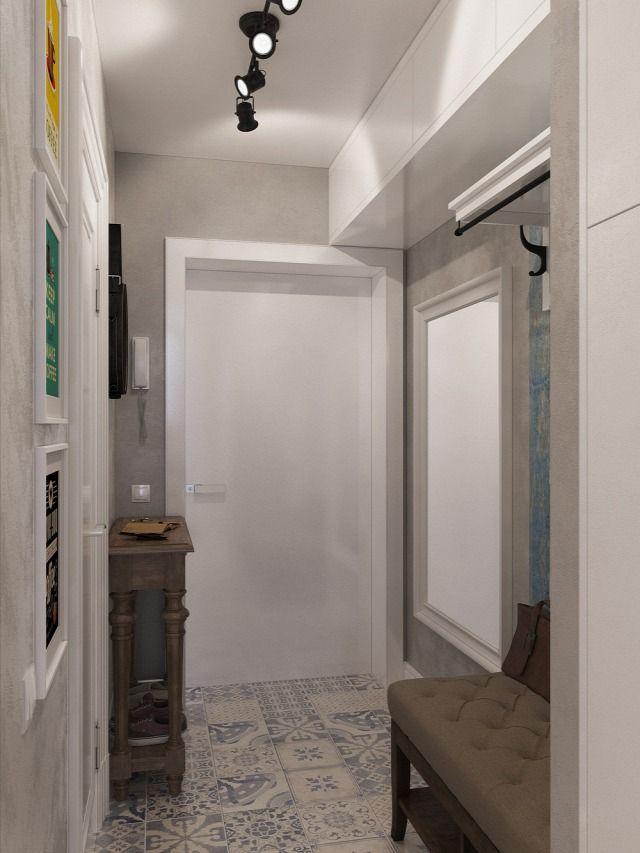 Ötletekkel gazdagfiatalos lakás 25 négyzetméteren (3D látványterv) - Inspiráló otthonok
