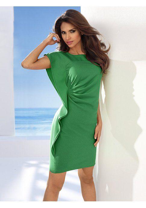 Платье - http://www.quelle.ru/New_arrivals/Women_fashion/Women_dresses/Short_dresses/Plate-futlyar__r1265115_m294020.html?anid=pinterest&utm_source=pinterest_board&utm_medium=smm_jami&utm_campaign=board2&utm_term=pin26_21032014 Потрясающее вечернее платье-футляр с очаровательным воланом сбоку. Невероятно женственная модель! #quelle #dress #coctail #night #luxury #look