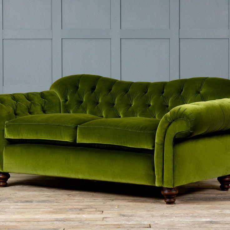 Green Velvet Sleeper Sofa