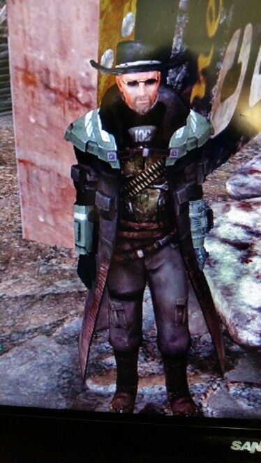 Xander Fallout New Vegas, advance Riot Gear, Desperado ...