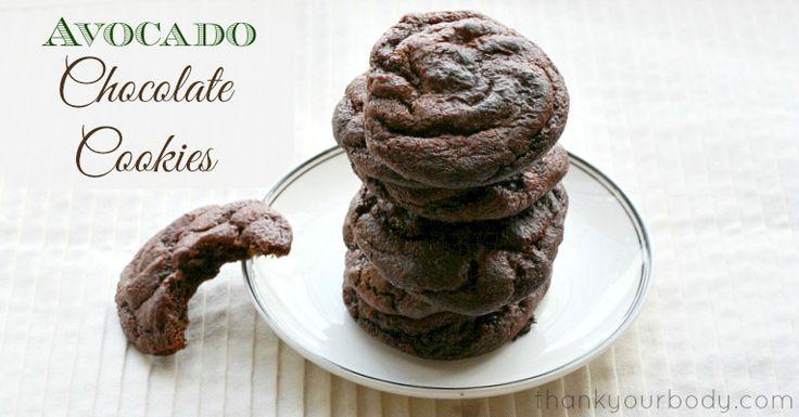 Recipe: Avocado Chocolate Cookies