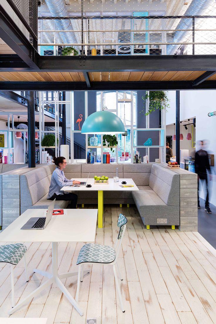 Deskopolitan by moreysmith is a work life environment for Factory oficina