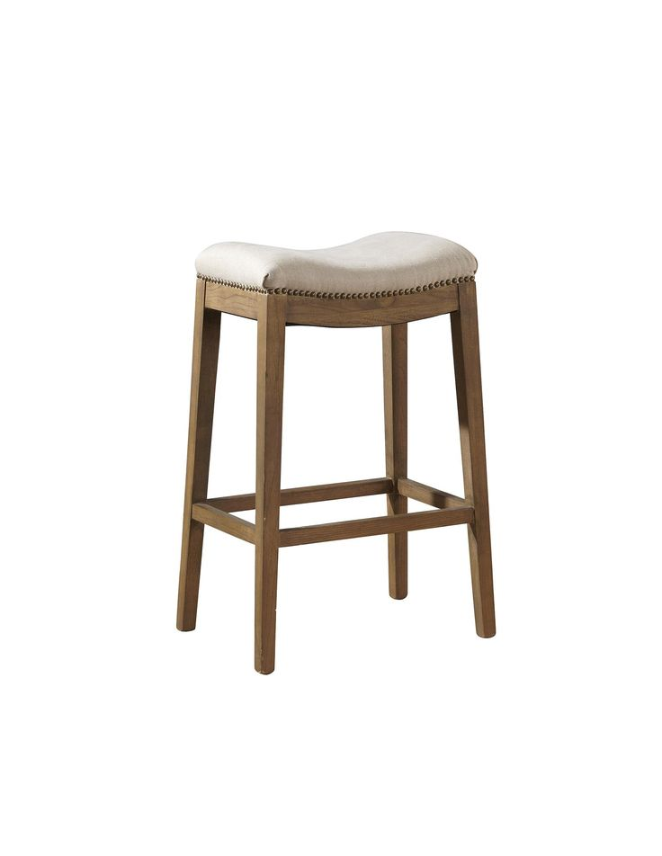 Awesome Padded Saddle Counter Stool