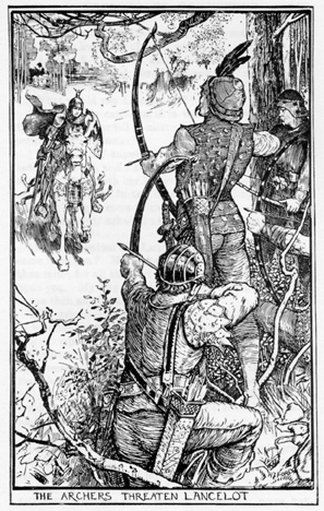 sir launcelot as an example of the knights of the round table The theme of honor and chivalry in le morte d'arthur from litcharts  the knights of the round table renew their oaths to follow the  thou sir launcelot,.