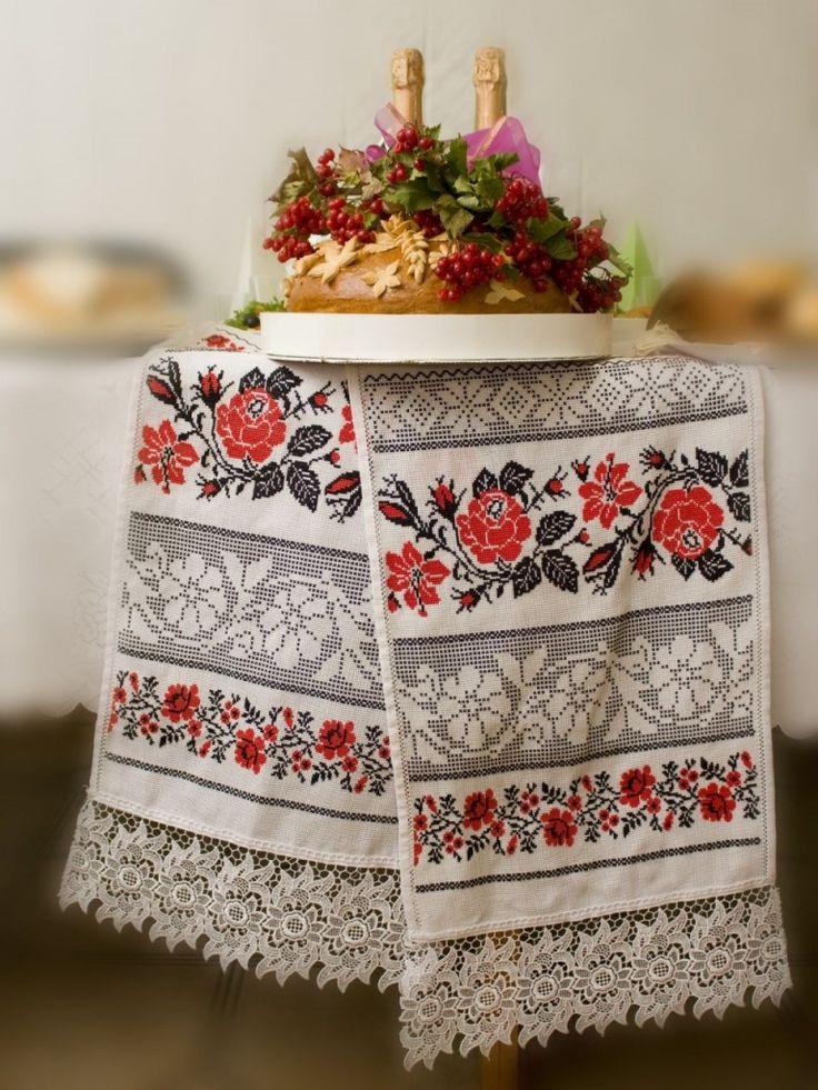 Украинский свадебный рушник