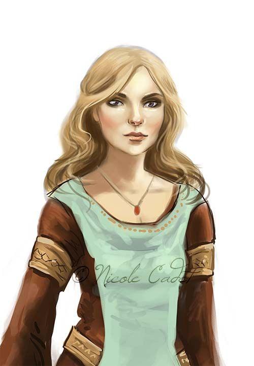 Detail - Medieval Character by NicoleCadet.deviantart.com ...