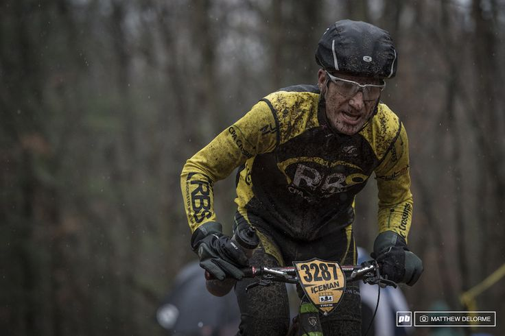 Soaking wet and covered in sand The Iceman took it s toll on people and bikes alike today.