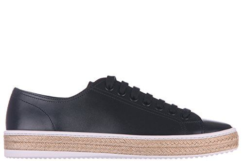 Prada Herrenschuhe Herren Leder Schuhe Sneakers calf Schwarz - http://on-line-kaufen.de/prada/prada-herrenschuhe-herren-leder-schuhe-sneakers-6