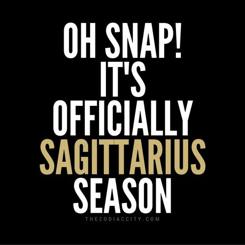 Big shoutout to all the Sagittarians out there!