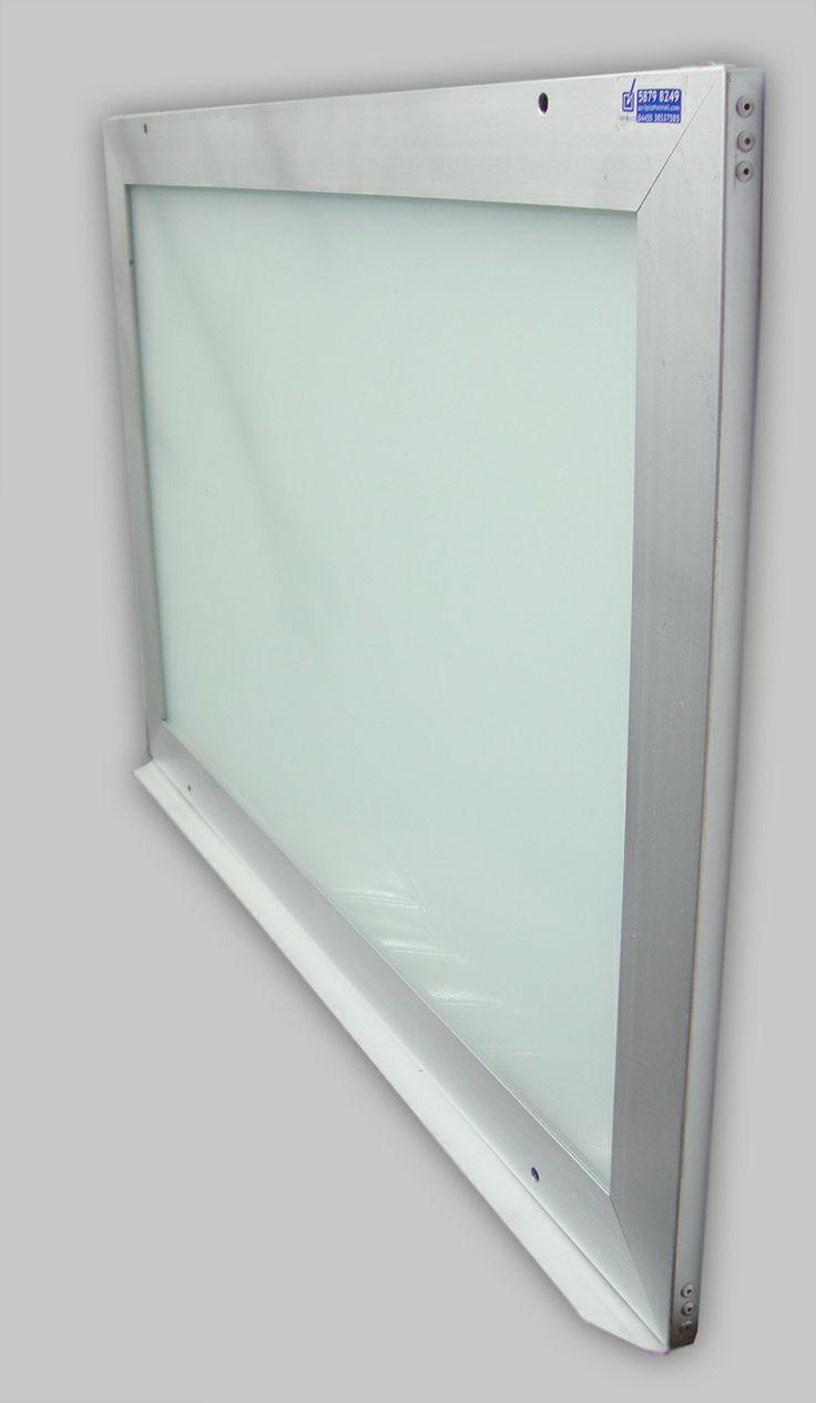 Pizarrón de cristal,( varias medidas)