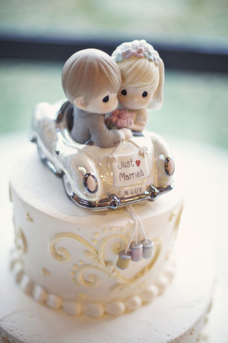 Cake topper- yes it's Precious Moments, but i loved it.