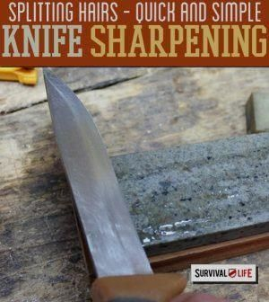 Quick and Simple #Knife Sharpening Tips | Survival #Knife…