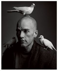 Michael Stipe by Mark Seliger