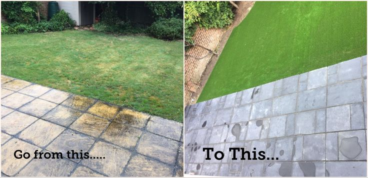 Give your garden a well deserved makeover, with a new lawn and a durable patio