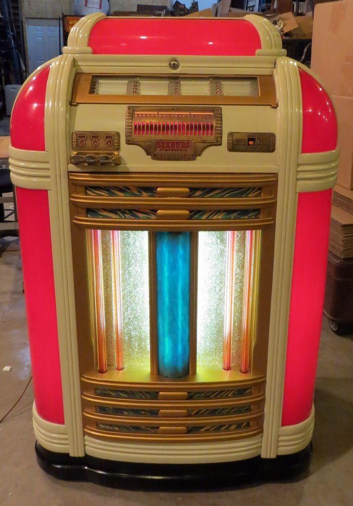 Details about 1939 Seeburg Symphonola Classic Jukebox (**SEE